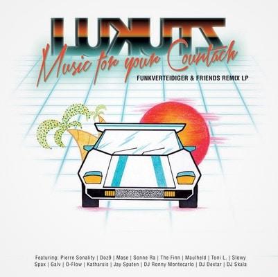 DJ Lukutz – Funkverteidiger & Friends Remix LP Album Cover