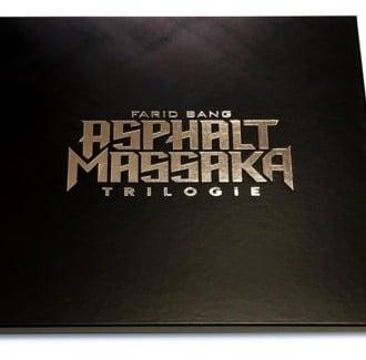 Farid Bang - Asphalt Massaka Trilogie Cover