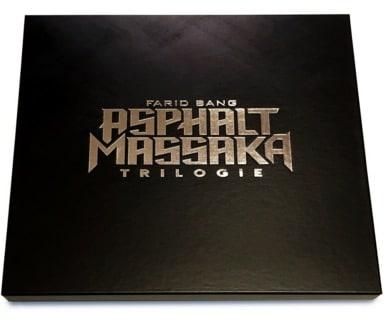Farid Bang – Asphalt Massaka (Die Trilogie) Album Cover