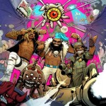 Flatbush Zombies - 3001- A Laced Odyssey Album Cover