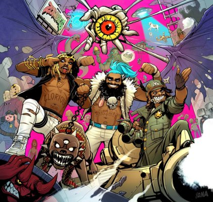 Flatbush Zombies – 3001: A Laced Odyssey Album Cover