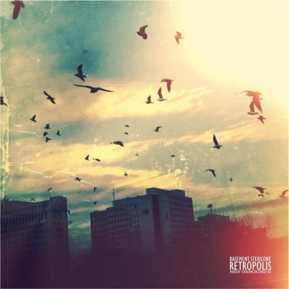 SterilOne & Basement – Retropolis Album Cover