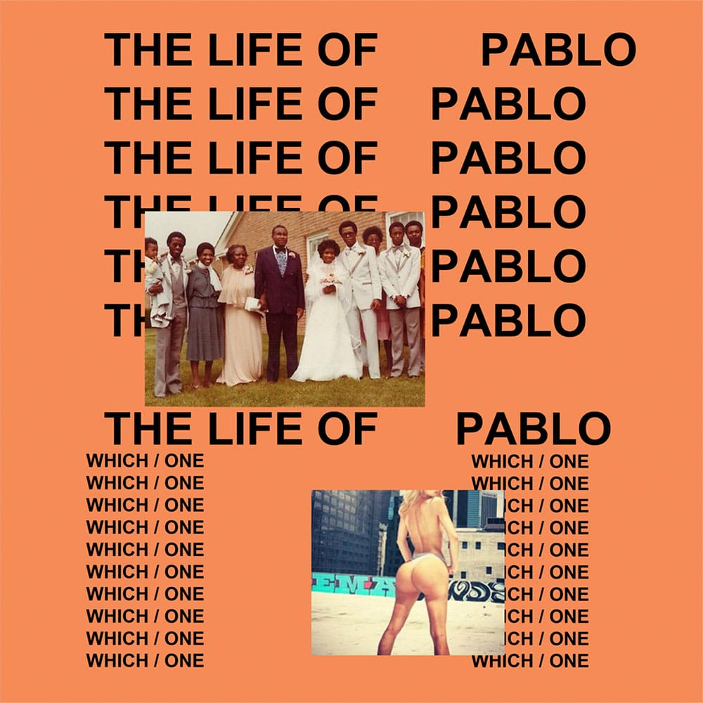 Kanye West – The Life Of Pablo Album Cover