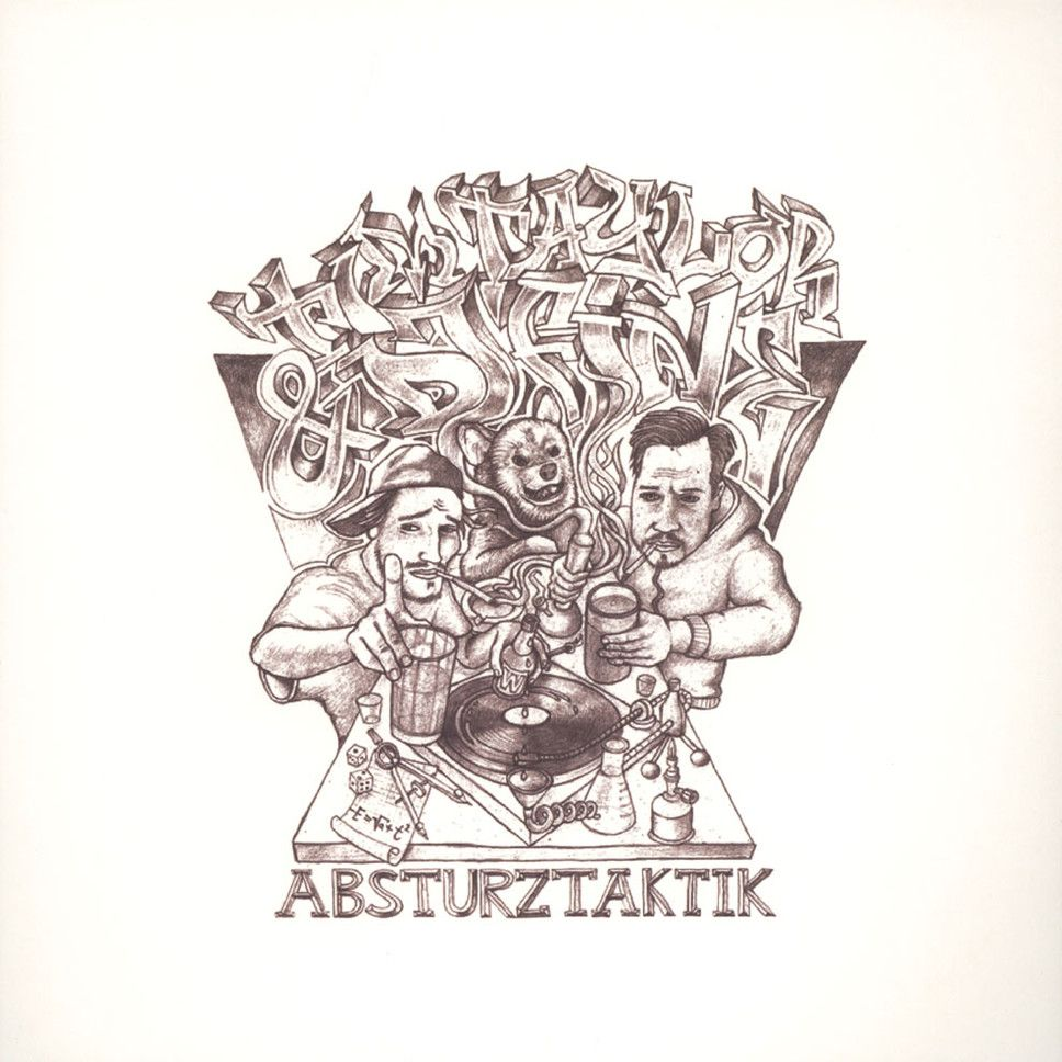 Tim Taylor & DJ Fine – Absturztaktik Album Cover