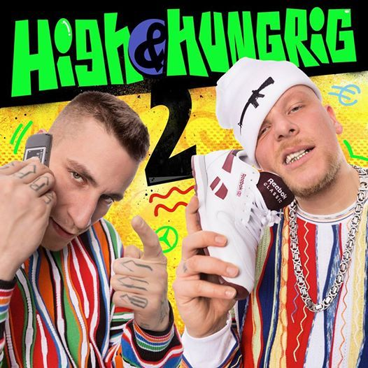 Gzuz & Bonez MC – High & Hungrig 2 Album Cover