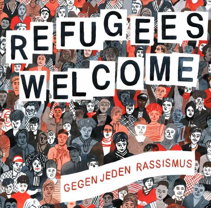 Various Artists – Refugees Welcome – Gegen jeden Rassismus Album Cover