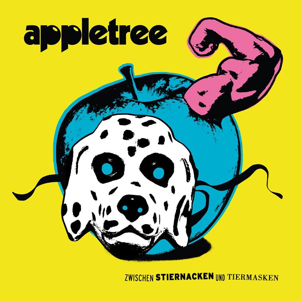 Appletree – Zwischen Stiernacken und Tiermasken EP Album Cover