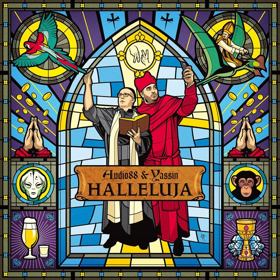Audio88 & Yassin – Halleluja Album Cover