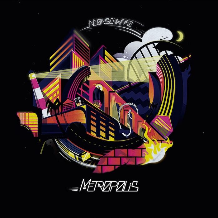 Neonschwarz – Metropolis Album Cover