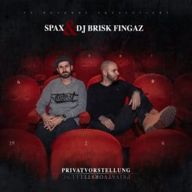 Spax & Brisk Fingaz - Privatvorstellung EP Cover