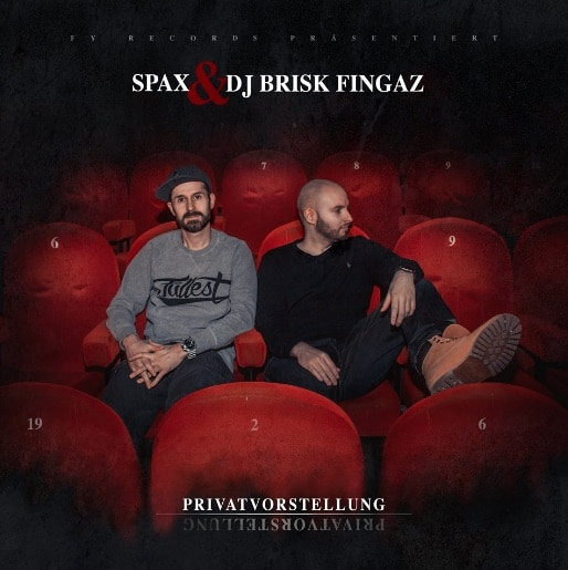 Spax & Brisk Fingaz – Privatvorstellung EP Album Cover