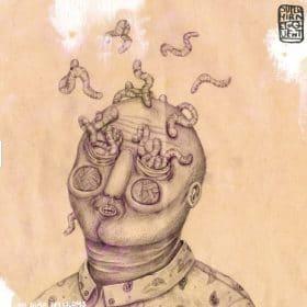 eloquent Superhirn - Im Auge Des Wurms Album Cover