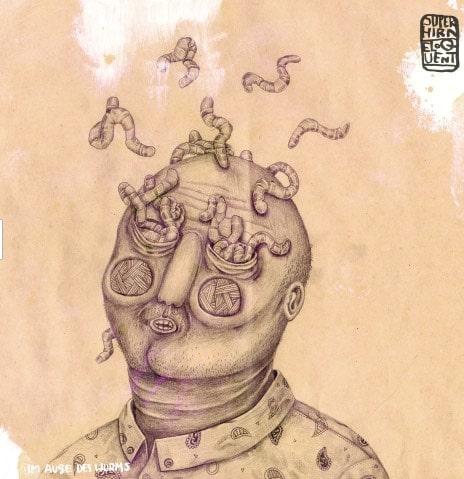 eloquent & Superhirn– Im Auge Des Wurms Album Cover