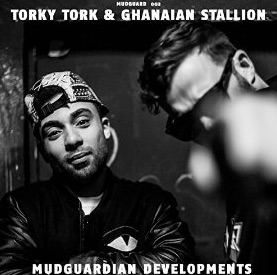Torky Tork & Ghanaian Stallion - Mudguardian Developments EP Cover