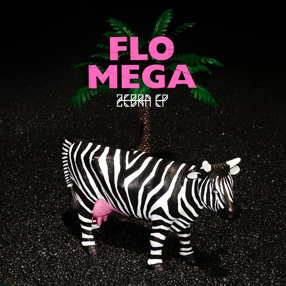 Flo Mega – Zebra EP Album Cover
