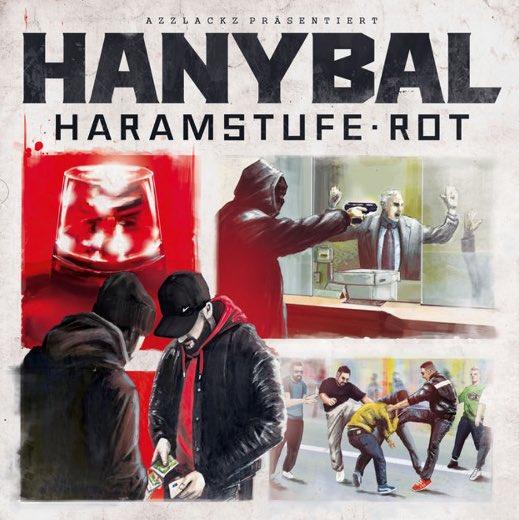 Hanybal – Haramstufe Rot Album Cover