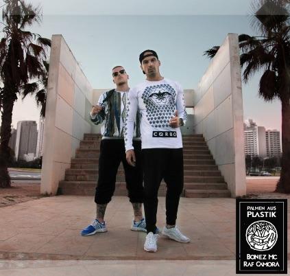 RAF Camora & Bonez MC – Palmen aus Plastik Album Cover