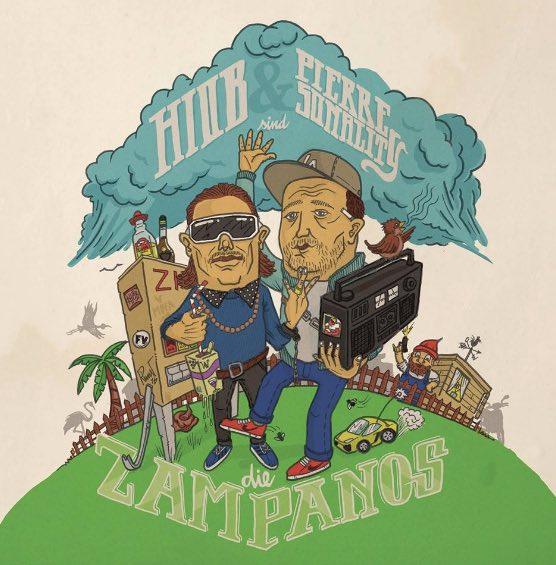 Hiob & Pierre Sonality – Die Zampanos Album Cover