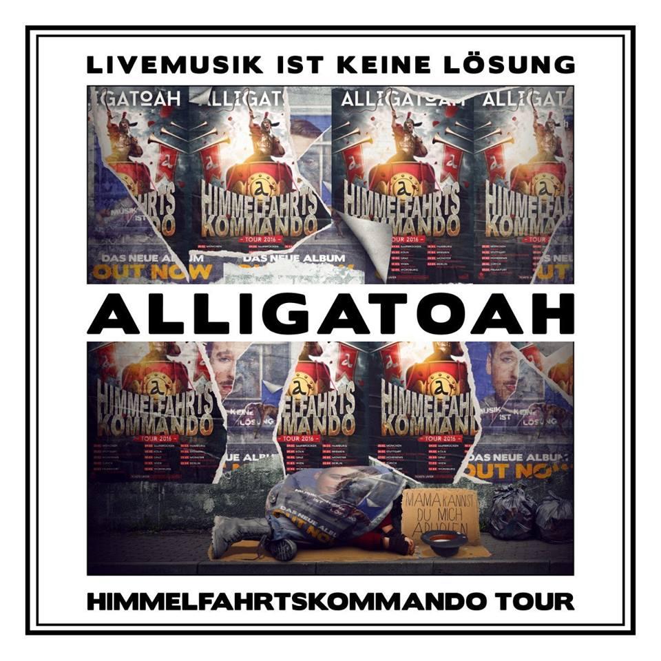Alligatoah – Livemusik ist keine Lösung Album Cover