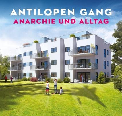 Antilopen Gang – Anarchie und Alltag Album Cover