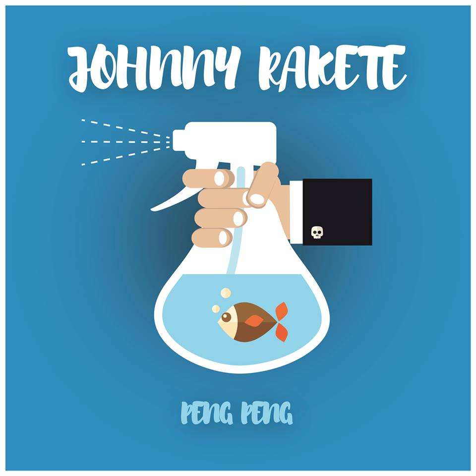 Johnny Rakete – Peng Peng Album Cover