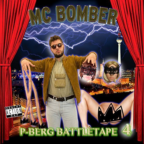 MC Bomber – P-Berg Battletape 4 Album Cover