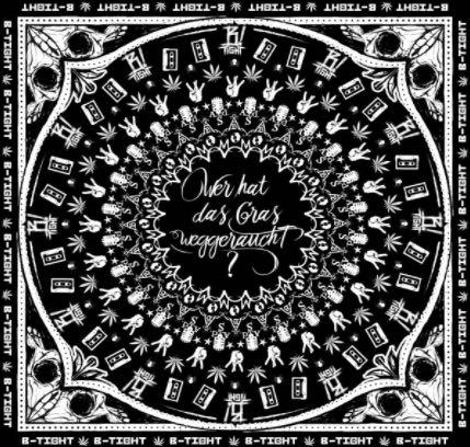 B-Tight – Wer hat das Gras weggeraucht Album Cover