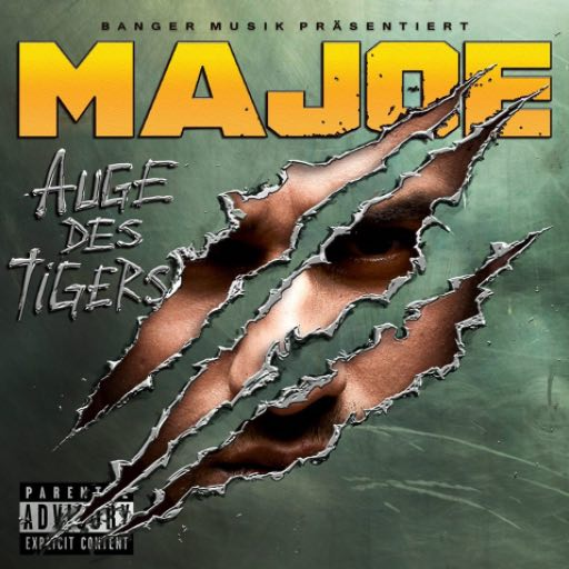 Majoe – Auge des Tigers Album Cover