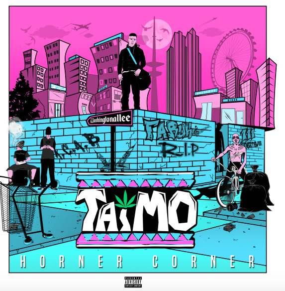 Taimo – Horner Corner Album Cover