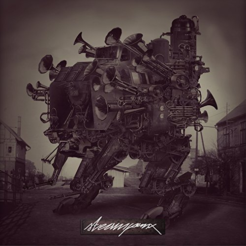 Steampunx (Abroo, Headtrick & Pawcut) – Steampunx Album Cover