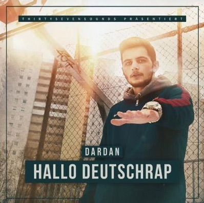 Dardan – Hallo Deutschrap Album Cover
