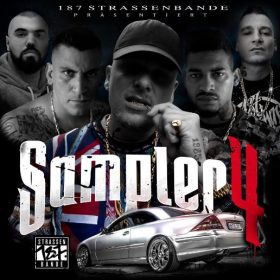 187 Strassenbande - Sampler 4 Album Cover