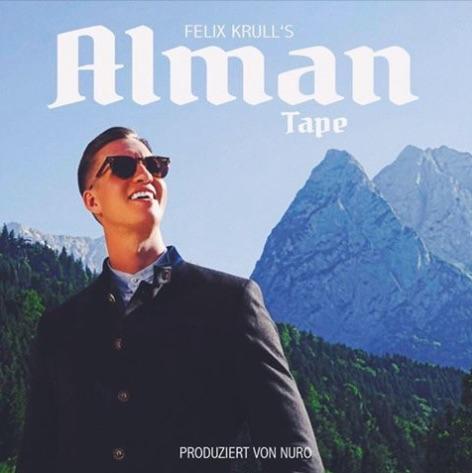 Felix Krull – Alman Tape Album Cover