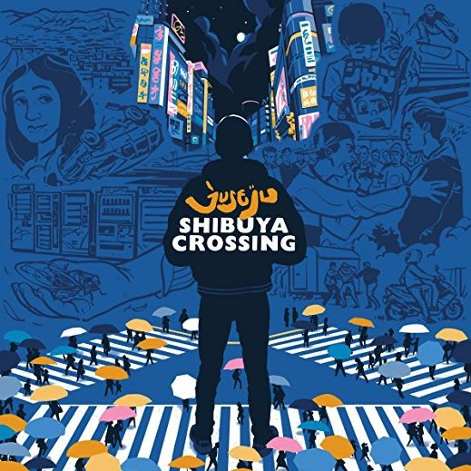 Juse Ju – Shibuya Crossing Album Cover