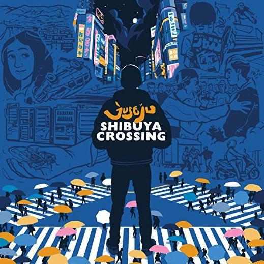 Juse Ju – Shibuya Crossing Album Cover