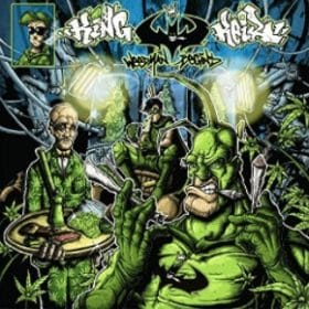 King Keil - Weedman begins Album Cover