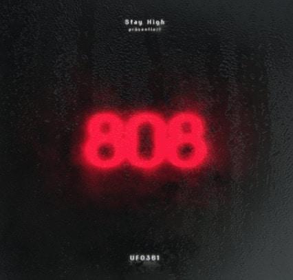 Ufo361 – 808 Album Cover