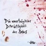 JAW - Die unertraegliche Dreistigkeit des Seins Album Cover