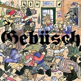 MC Bomber - Gebuesch Album Cover