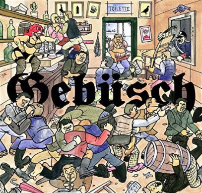 MC Bomber – Gebüsch Album Cover