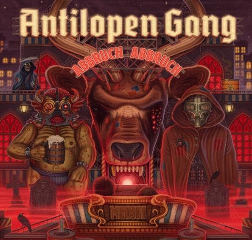 Antilopen Gang – Abbruch Abbruch Album Cover