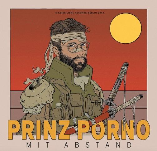 Prinz Porno – Mit Abstand Album Cover
