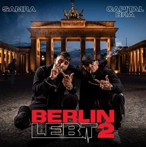 Capital Bra x Samra - Berlin lebt 2 Album Cover