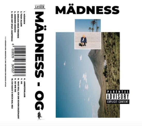 Mädness – OG Album Cover