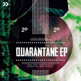 Bizzy Montana - Quarantaene EP Cover