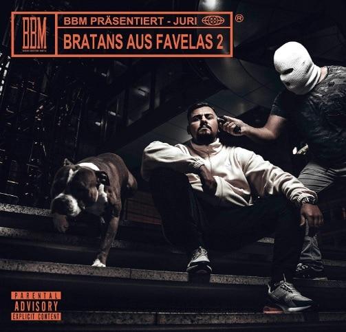 Juri – Bratans aus Favelas 2 Album Cover