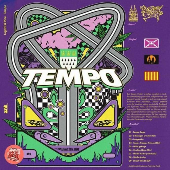 Lugatti & 9ine – Tempo Album Cover