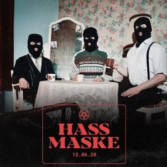Ruffiction - Hassmaske Album Vorabcover
