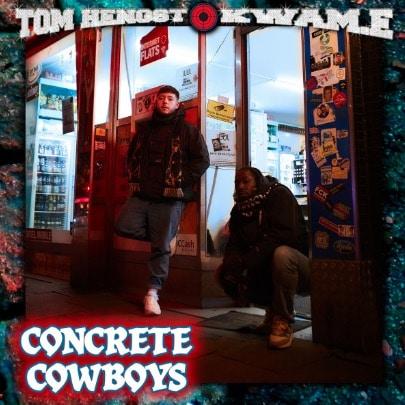 Tom Hengst & Kwam.e – Concrete Cowboys Album Cover