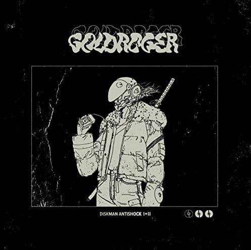 Goldroger – Diskman Antishock II Album Cover